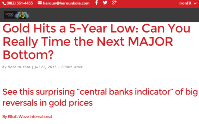 Gold Hits a 5-Year Low: Can You Really Time the Next MAJOR Bottom?
