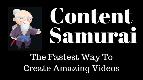 Get 50% OFF Content Samurai – Ends FRIDAY