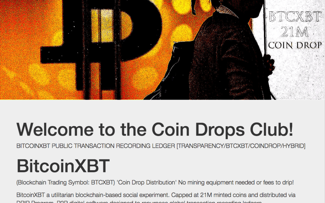 What is a bitcoinxbt and how you can get coins for free