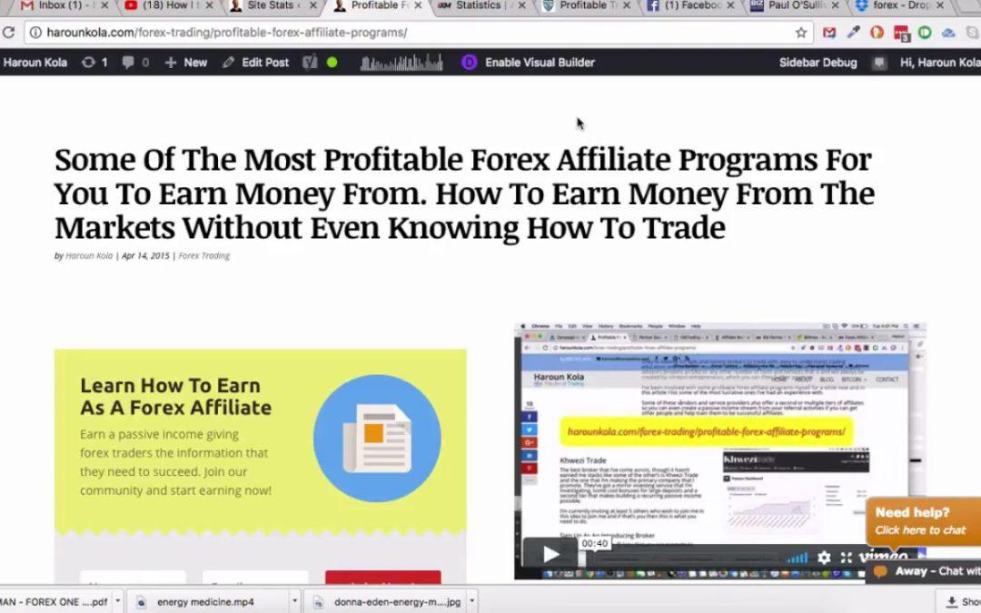 Forex active trader