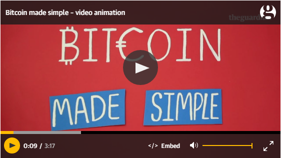 Bitcoin made simple a guardian video ccuart Choice Image
