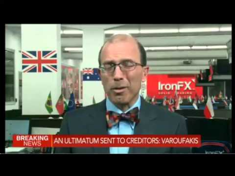 "Greece votes ""NO"" Marshall Gittler Live on Bloomberg 06.07.2015"