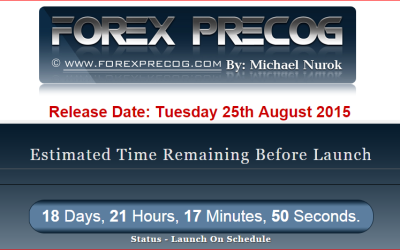 Forex Precog by Michael Nurok Launches on Tuesday 25 August 2015