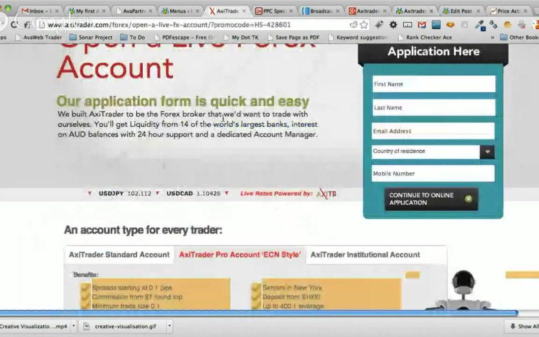 Forex Trading Broker AxiTrader Review