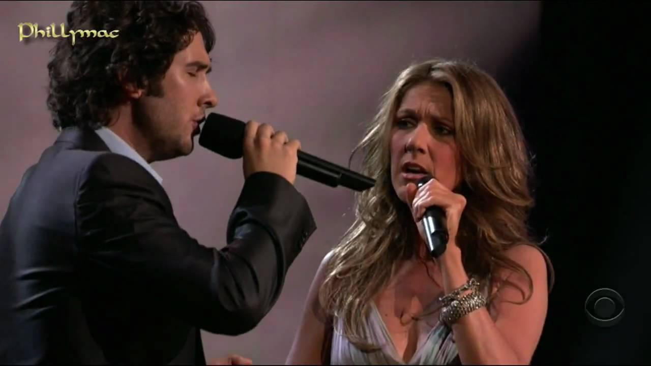 The Prayer. Celine Dion & Josh Groban Live