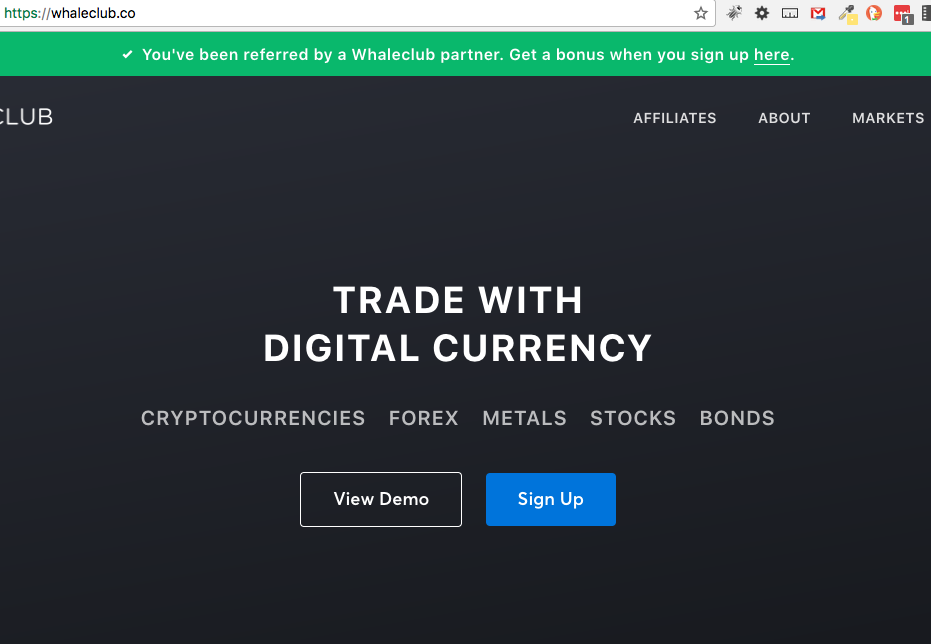 Trade digital currency