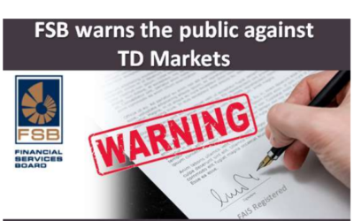 FSB warns the public against TD Markets