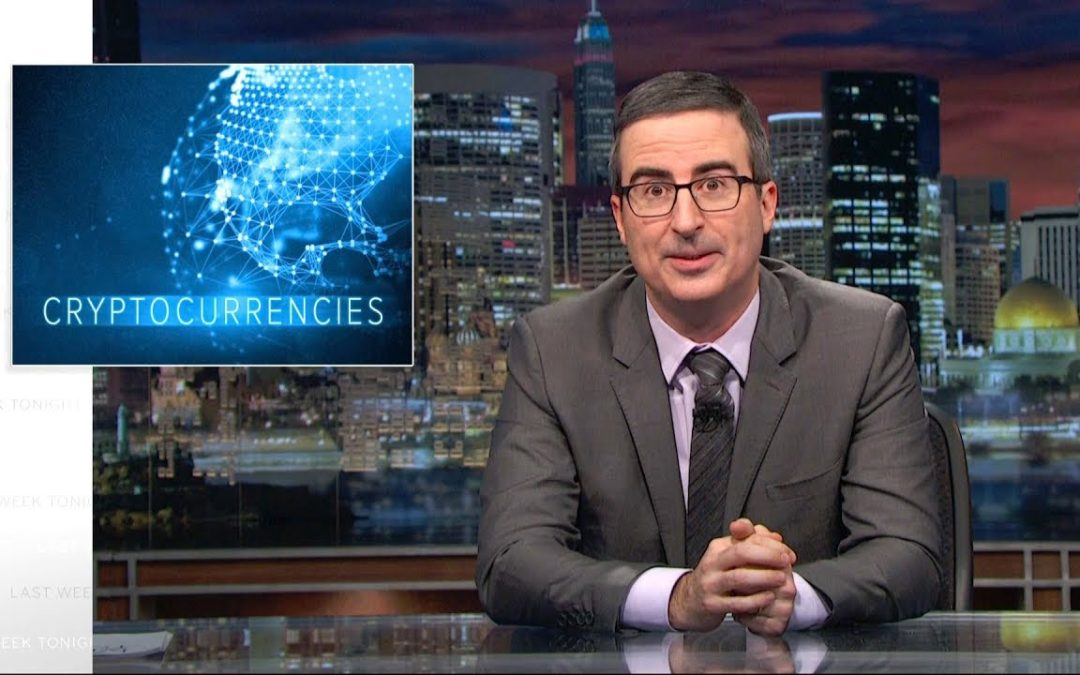 Cryptocurrencies & Bitcoin On Last Week Tonight with John Oliver