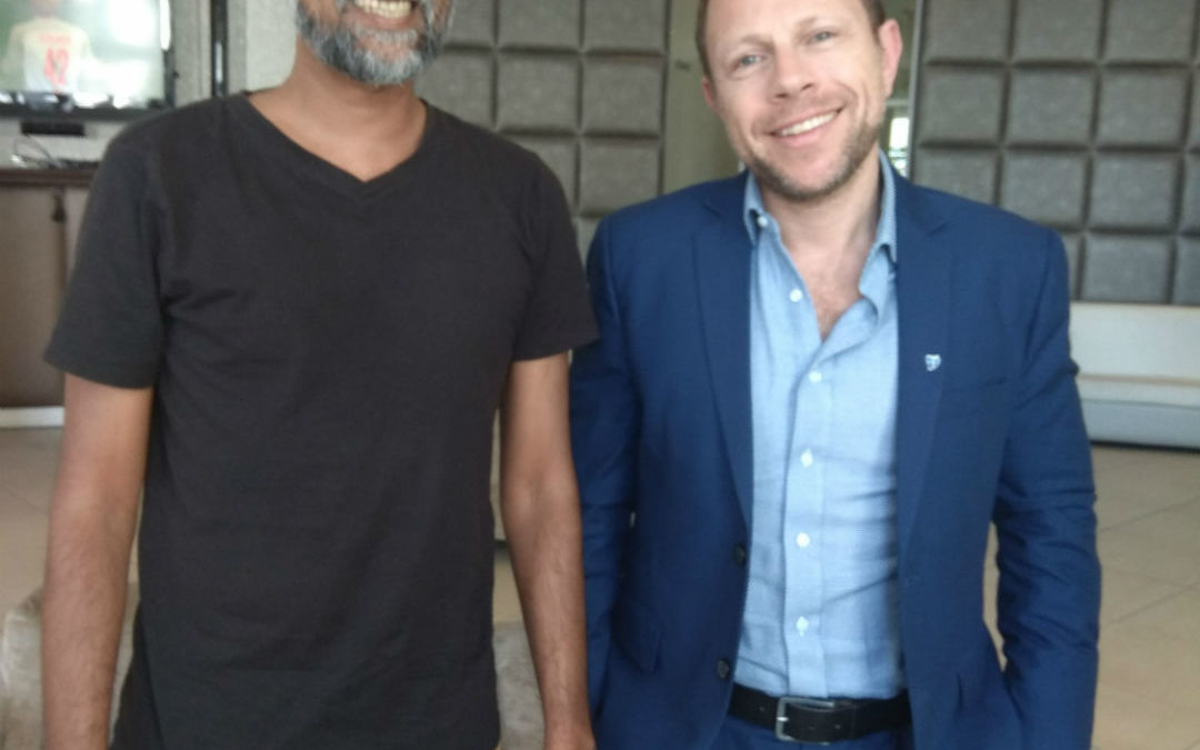 Meeting with Daniel Kibel the CEO of CMTrading